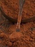 Chocolate with cinnamon Stock Photography