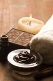 chocolate cinnamon spa Στοκ εικόνα με δικαίωμα ελεύθερης χρήσης