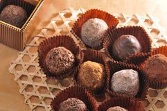 Chocolate clasificado Imagen de archivo