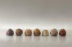 Chocolate clasificado Imagen de archivo libre de regalías