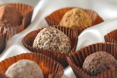Chocolate clasificado Foto de archivo