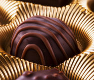 Chocolate in close up Stock Image