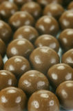 Chocolate Coated Balls Stock Photo
