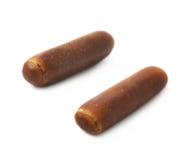 Chocolate coated licorice stick Stock Image