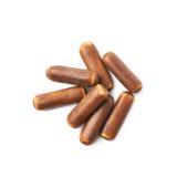 Chocolate coated licorice stick Royalty Free Stock Image