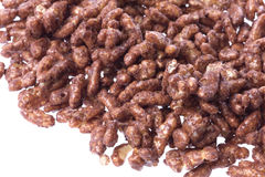 Chocolate Coated Rice Cereal Stock Photography