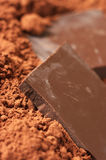 Chocolate and cocoa Stock Image