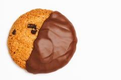 chocolate coconut cookie Arkivfoto