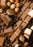 Chocolate & Coffee Royalty Free Stock Photography