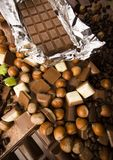 Chocolate & Coffee Stock Images