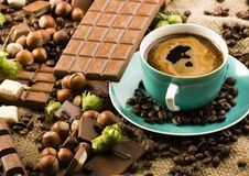 Chocolate & Coffee Royalty Free Stock Image