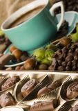 Chocolate & Coffee Stock Image