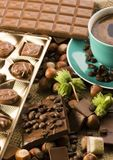 Chocolate & Coffee Stock Photo