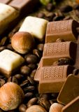 Chocolate & Coffee Royalty Free Stock Photos