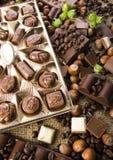 Chocolate & Coffee Royalty Free Stock Photo