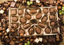 Chocolate & Coffee Stock Image