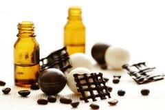Chocolate and coffee bath Stock Photo