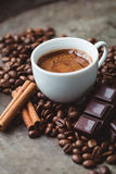 Chocolate Coffee Stock Photography