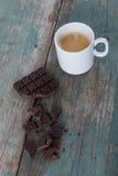 Chocolate and coffee Stock Image