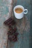 Chocolate and coffee Royalty Free Stock Photo