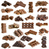 Chocolate collection stock photo