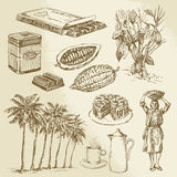 Chocolate collection royalty free illustration