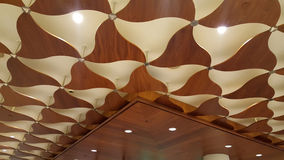 Chocolate color ceiling Royalty Free Stock Photo