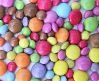Chocolate colorido Foto de archivo libre de regalías