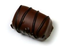 Chocolate con las rayas oscuras imagenes de archivo