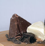 Chocolate con leche Imagen de archivo libre de regalías