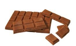 Chocolate con leche foto de archivo