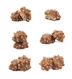 Chocolate confection candy isolated Royalty Free Stock Image