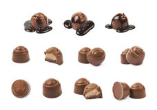 Chocolate confection candy isolated Stock Photography