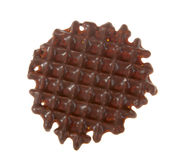 Chocolate cookie. Close up of chocolate cookie Royalty Free Stock Images