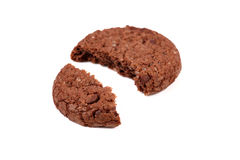 Chocolate cookie Stock Photos