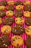 Chocolate cookie biscuits Stock Photo