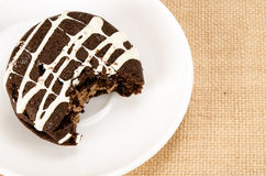 Chocolate cookie cake Royalty Free Stock Images