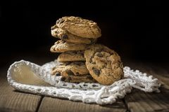 Chocolate cookie Royalty Free Stock Photo