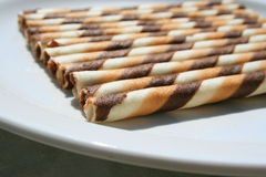 Chocolate Cookie Sticks Royalty Free Stock Photos
