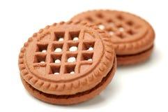 Chocolate cookies Royalty Free Stock Photos