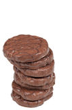 Chocolate cookies. A pile of some delicious chocolate cookies Royalty Free Stock Photography
