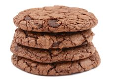 Chocolate cookies #3 Royalty Free Stock Photo