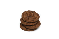 Chocolate cookies Stock Photo