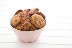 Chocolate cookies and brownies Royalty Free Stock Photos