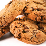 Chocolate Cookies Detail Stock Images