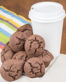 Chocolate cookies Stock Photography