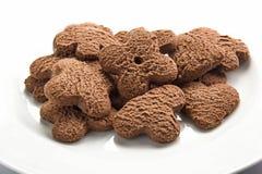 Chocolate cookies Stock Photos