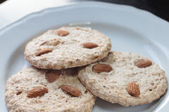 chocolate cookies three Στοκ Φωτογραφίες