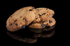 Chocolate cookies Royalty Free Stock Photos
