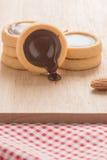 Chocolate cookies. Stock Photos